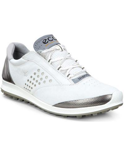Кожаные кроссовки деловой белый Ecco