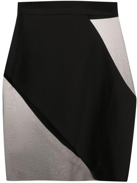 Юбка мини прозрачная со вставками Loulou