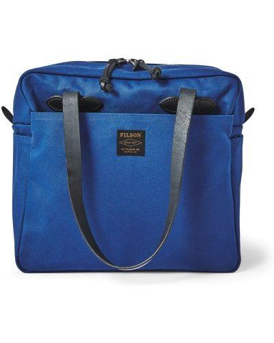 Niebieska torebka Filson