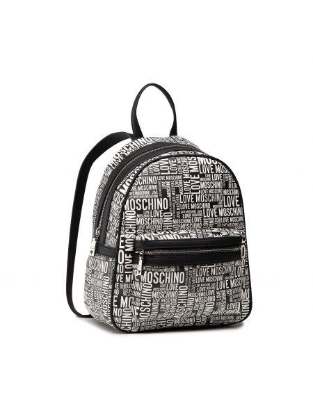 Czarna torba sportowa Love Moschino