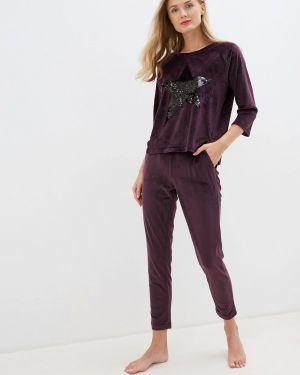 Домашний костюм фиолетовый Lelio