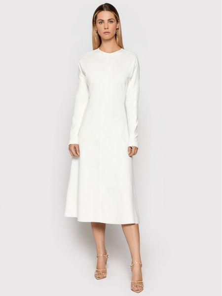 Biała sukienka casual Liviana Conti