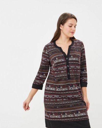 Повседневное платье - бордовое Forus