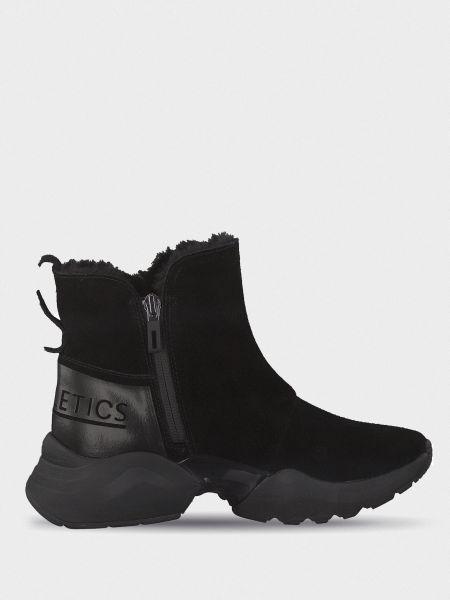 Повседневные черные ботинки Tamaris