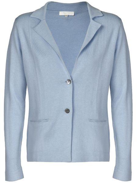 Кашемировый пиджак - голубой Ca' Vagan
