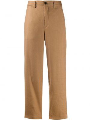 Spodnie z wysokim stanem z kieszeniami przycięte Closed