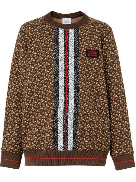 Bluza brązowy Burberry