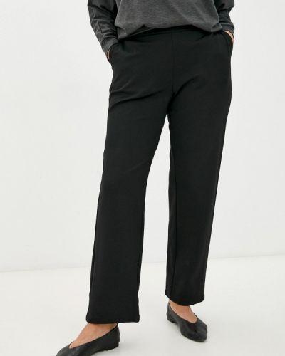 Прямые брюки - черные Zizzi