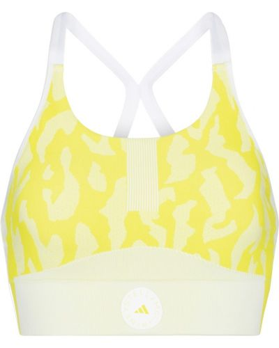 Желтый лиф Adidas By Stella Mccartney