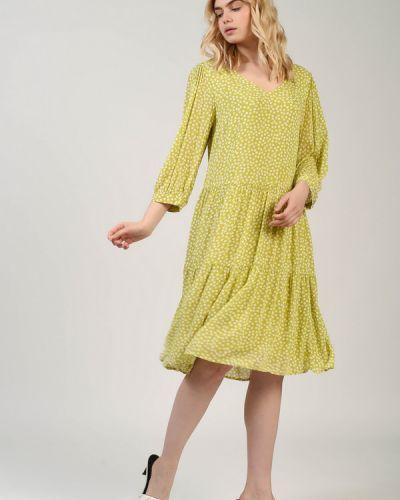 Платье из вискозы Comma