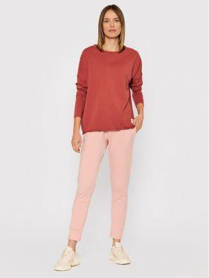 Bluzka oversize - różowa Outhorn
