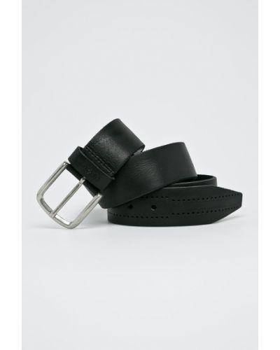 Черные джинсы кожаный Pepe Jeans