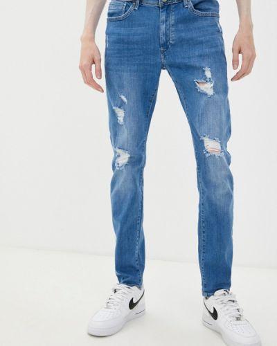 Зауженные джинсы - голубые Tiffosi