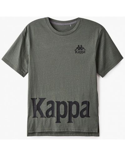 Зеленая футболка Kappa