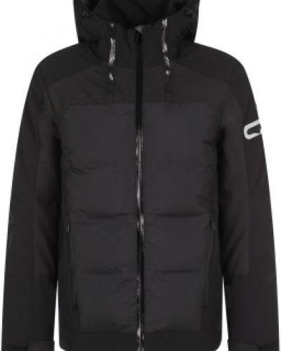 Черная утепленная куртка на молнии Icepeak