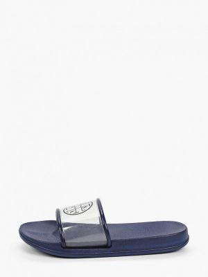 Синие пляжные шлепанцы U.s. Polo Assn.