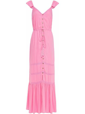Пляжное платье макси - розовое Melissa Odabash
