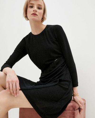 Черное вечернее платье Just Cavalli