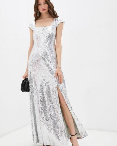 Вечернее платье - серебряное Lauren Ralph Lauren