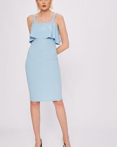 Платье мини с оборками облегающее сетчатое Silvian Heach