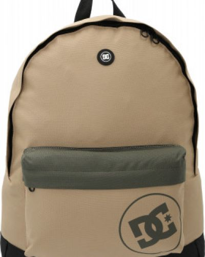 Бежевый рюкзак для ноутбука с карманами Dc Shoes