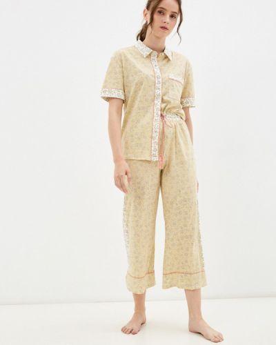 Желтая зимняя пижама Women'secret
