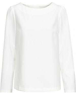 Блузка с длинным рукавом кружевная прямая Bonprix