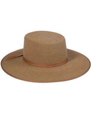 Brązowy kapelusz wełniany Lack Of Color