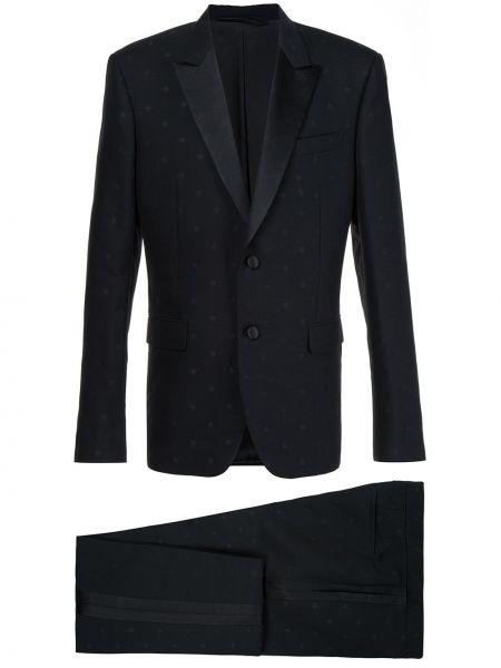 Wełniany garnitur z kieszeniami Givenchy