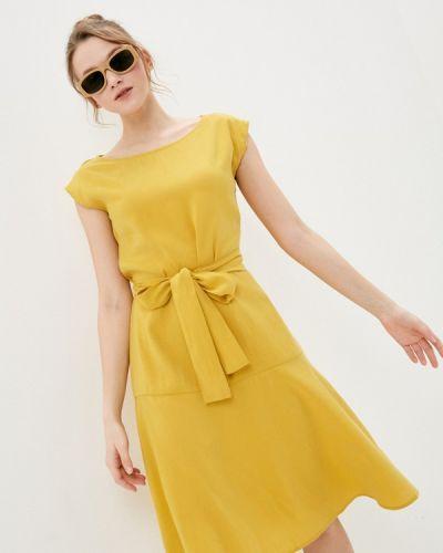 Повседневное желтое платье Savage