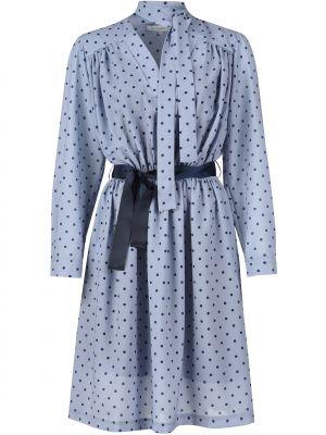 Платье из полиэстера - голубое Silvian Heach