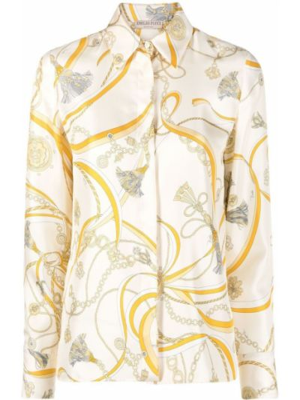 Шелковая рубашка Emilio Pucci