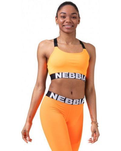 Спортивный топ - оранжевый Nebbia