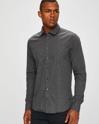 Рубашка с длинным рукавом серая Casual Friday