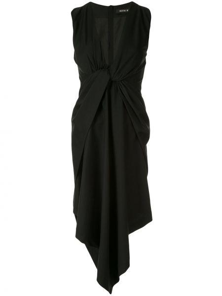 Приталенное асимметричное платье на молнии Kitx