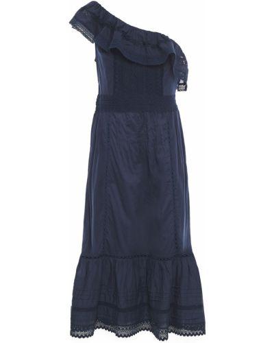 Хлопковое платье миди Velvet By Graham & Spencer
