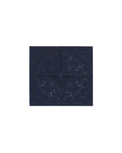 Платок синий Versace