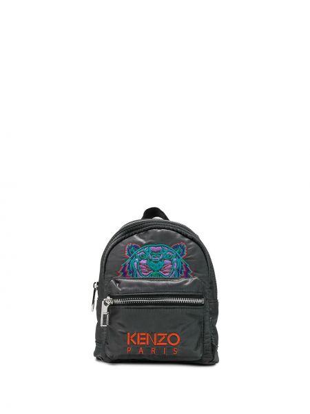 Sport plecak z haftem z nylonu Kenzo