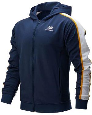 Синяя спортивная толстовка с капюшоном New Balance