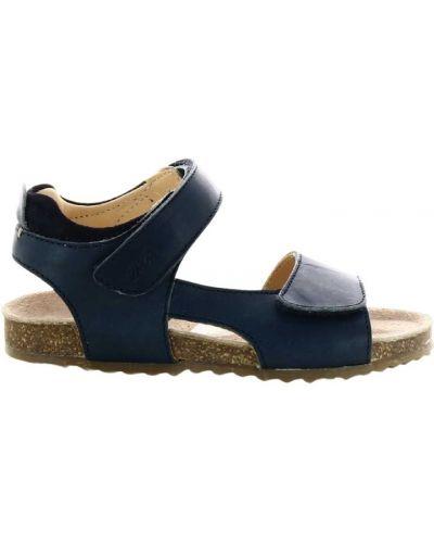 Niebieskie sandały Ocra