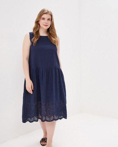 Платье - синее Milanika