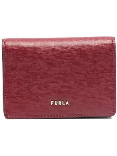 Кожаный красный кошелек Furla