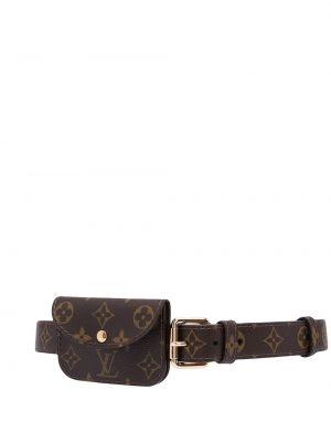 Коричневая сумка мешок Louis Vuitton