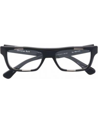 Czarne okulary Christian Roth