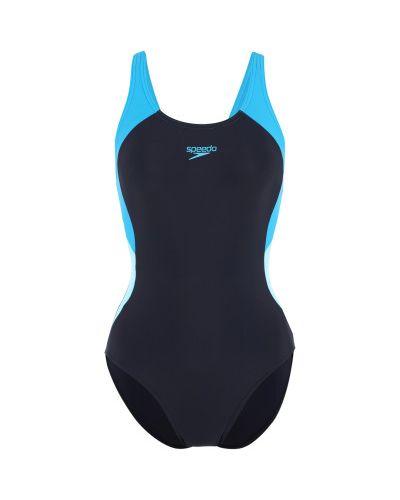 Синий спортивный купальник Speedo