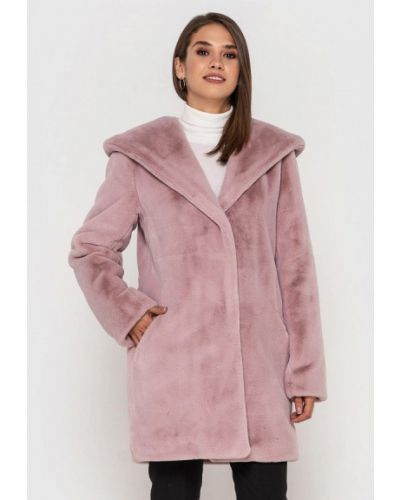 Розовая шуба Grand Furs