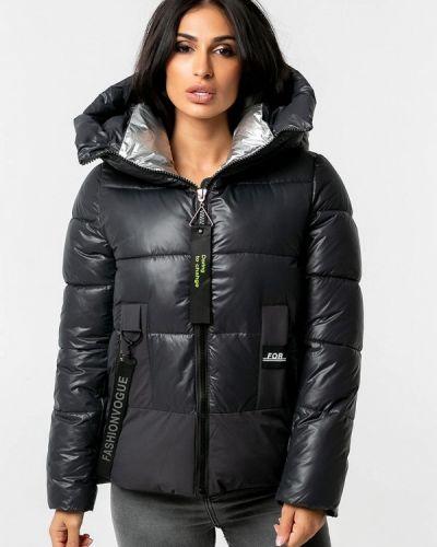 Серая теплая зимняя куртка Whitefox