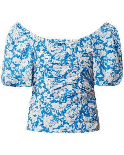 Niebieska bluzka bawełniana Gestuz