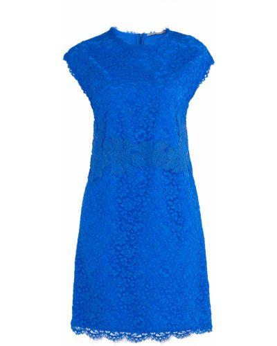 Платье с цветочным принтом с вырезом Ermanno Scervino