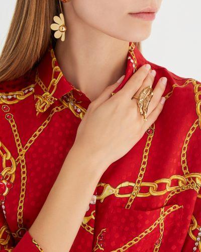 Кольцо позолоченный из золота Natasha Zinko